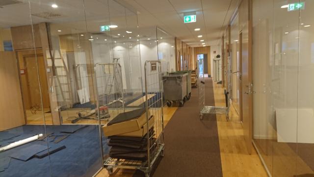 Kontorsanpassning Stockholm Snickare Bygg